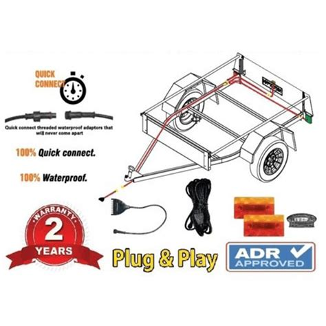 boat trailer wiring kit with lights wiring diagram