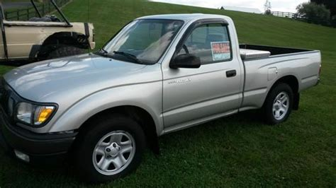 small engine maintenance and repair 2002 toyota tacoma regenerative braking sell used 2002 toyota tacoma dlx standard cab pickup 2 door 2 4l in winchester virginia united
