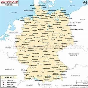 Vorwahl 16 : deutschland st dte karte kunden brd karte deutschland landkarte deutschland und deutschland ~ Orissabook.com Haus und Dekorationen