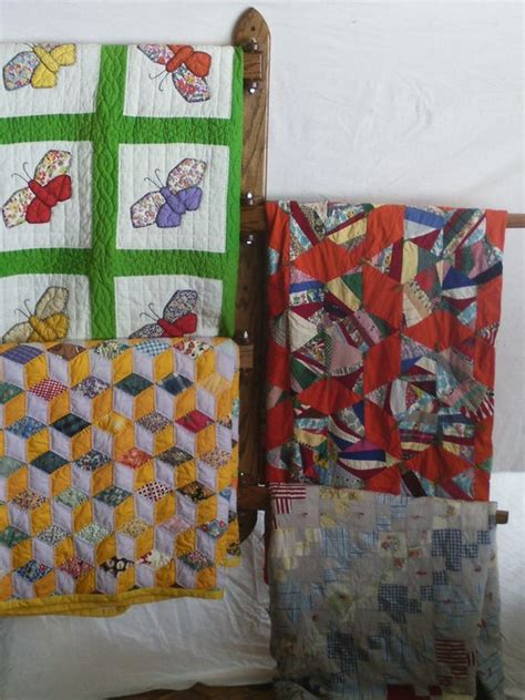 multiple hanging quilt rack  countryhandswoodwork  etsy