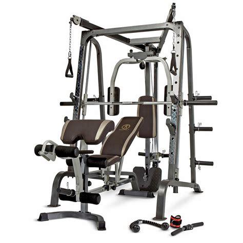 quality brand smith machine home gym md  marcy pro