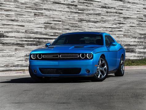 Dodge- Challenger 2015 Muscle Car Wallpaper Blue 4000x3000