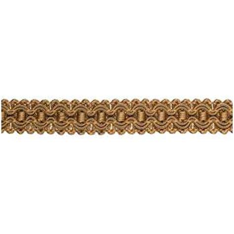 sewing drapes and curtains gold gimp braid trim hobby lobby 512236