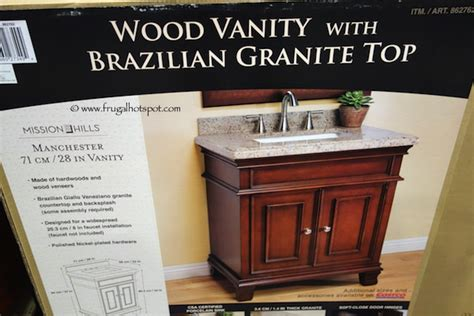 costco sale mission manchester 28 quot vanity with sink