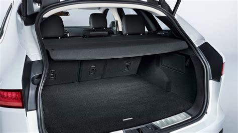 jaguar  pace cargo space trunk view latest cars