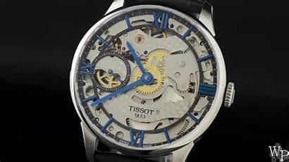 Tissot Squelette Chemin Tourelles Des Wallpapers Wristwatch