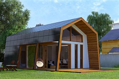 ecokits prefab cabin  sustainable home   assemble