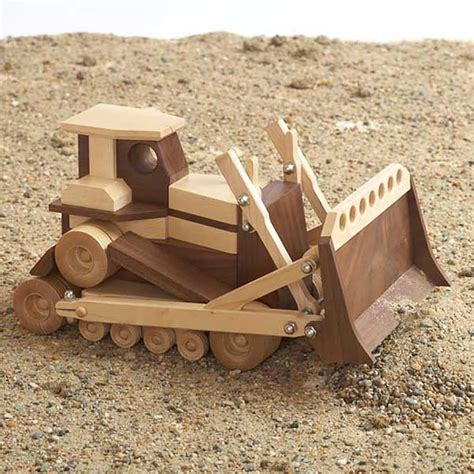 construction grade bulldozer woodworking plan  wood