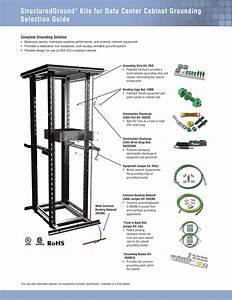 Structuredground U2122 Kits For Data Center Cabinet Grounding