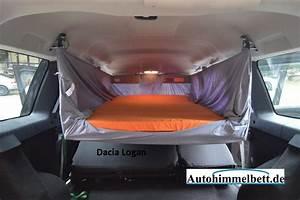 Im Auto übernachten : schlafen im dacia logan i bj 2004 2013 bequem im ~ Kayakingforconservation.com Haus und Dekorationen