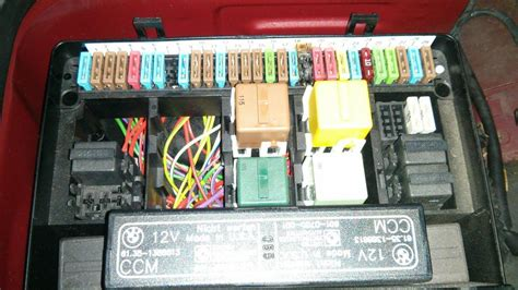 Fuse Box Diagram 1990 Bmw 730i by Fuse 19 Melted Into Box