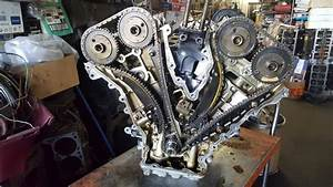 Ford 3 0 Timing Chain And Head Removal