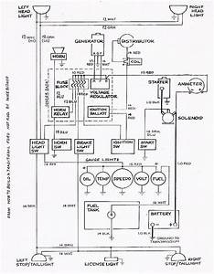 basic ford hot rod wiring diagram hot rod car and truck With basic engine wiring