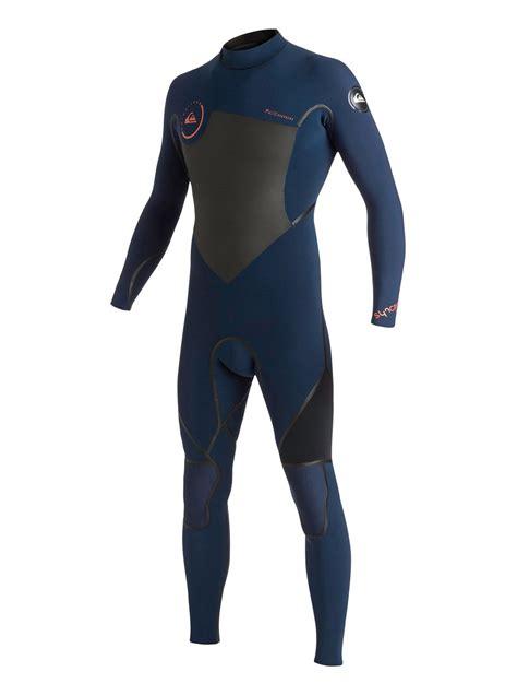 Syncro LFS 4/3mm Back Zip Wetsuit AQYW103070   Quiksilver