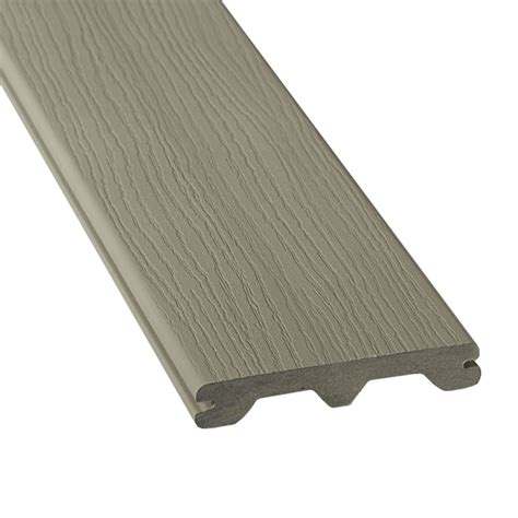 Trex Decking Home Depot Canada by Veranda 12 Ft Hp Composite Capped Grooved Decking
