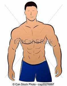 Image Homme Musclé : vecteur homme muscle illustration vecteur fond blanc muscle dessin homme ~ Medecine-chirurgie-esthetiques.com Avis de Voitures