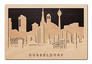 Schriftzüge Aus Holz : 3d wandbild aus holz skyline d sseldorf einfach pers nlich ~ Frokenaadalensverden.com Haus und Dekorationen