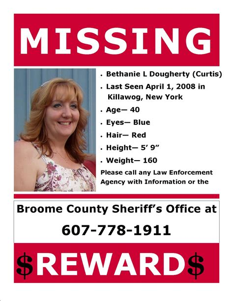 drive bureau active missing persons broomecountyny