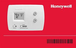 Honeywell Thermostat Th3000 User Guide