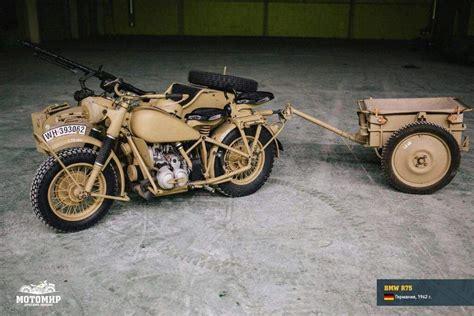 Bmw R75---- German World War 2 Workhorse!