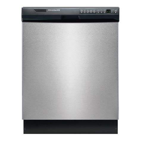 Frigidaire Front Control Dishwasher In Stainless Steel