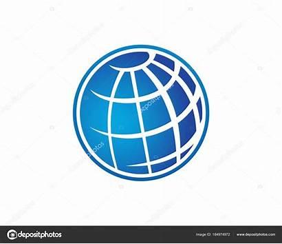 Globe Drahtkugel Logoschablone Embleemmalplaatje Het Cavo Globo