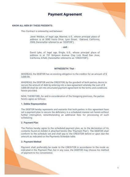 simple  page lease agreement template  templates