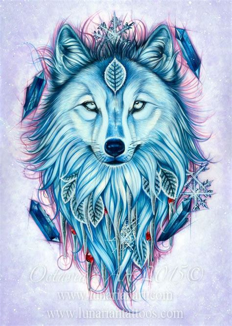 Winter Wolf Art Symbolism Giclee