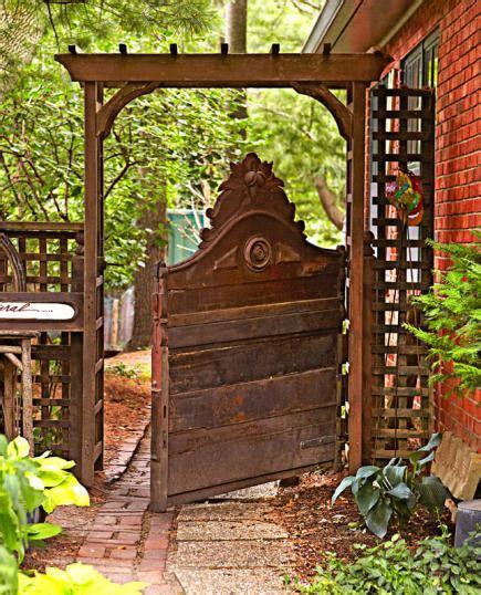 Backyard Gate Ideas by Great Garden Gate Ideas Midwest Living