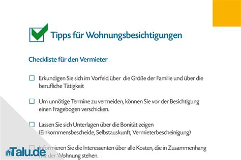 Fragen Bei Der Wohnungsbesichtigung by Wohnungsbesichtigung Checkliste F 252 R Mieter Und Vermieter