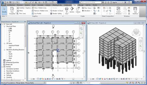 autodesk revit 2017 tutorial drawing pile cap civil engineering community