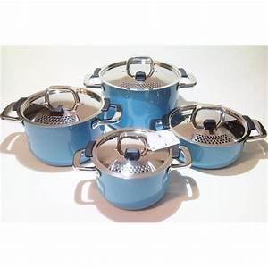 Topfset Induktion Silit : silit mountain blue topfset 4 tlg silargan induktion blau kochtopfset ebay ~ Yasmunasinghe.com Haus und Dekorationen