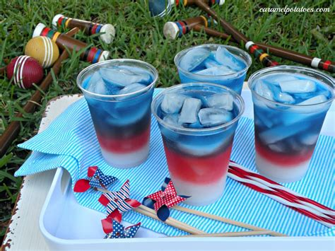 4th of july drinks caramel potatoes 187 layered drinks 4th of july style