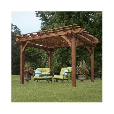wooden gazebo kit garden pergola free standing outdoor gazebo wooden wood