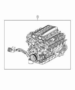 Dodge Viper Engine  Long Block