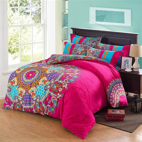 pink comforter sets queen size hot aqua purple and orange