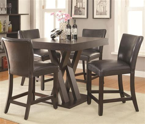 4 chair table set freedom counter height table 4 chair set
