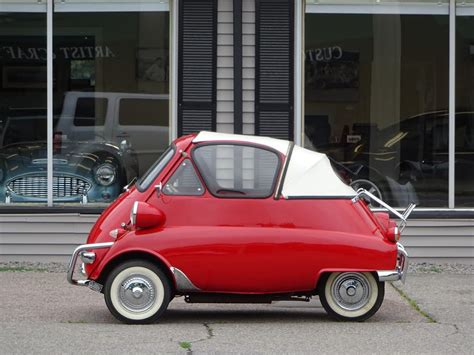 Customized Isetta (interior) | A customized BMW Isetta at ...
