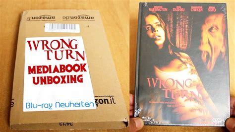 wrong turn mediabook unboxing blu ray neuheit youtube