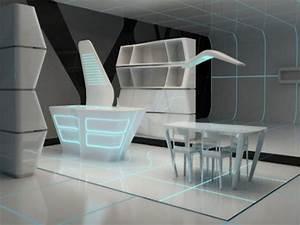 Beautiful house interiors, futuristic home interior design ...