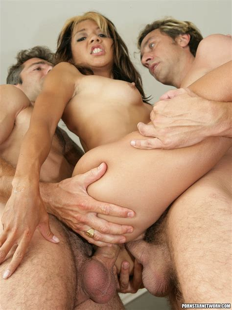 Keeani Lei Group Sex With Double Penetration And Anal 58098