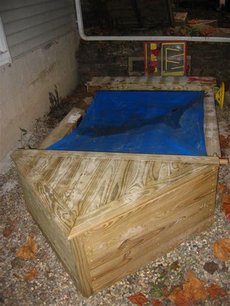 boat sandbox  wingstress  lumberjockscom