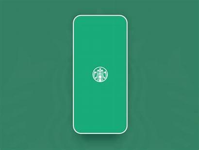 Starbucks App Dynamic Effect Dribbble Animation Coffee