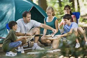Camping Activities With The Family