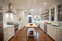 narrow kitchen island 10 Practical, versatile and multifunctional rolling ...