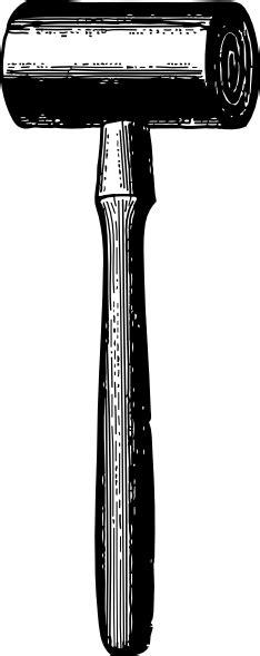 wooden mallet clip art  clkercom vector clip art