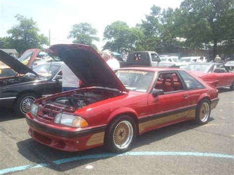 Find Used 1988 Saleen Mustang Mint! In Passaic, New Jersey
