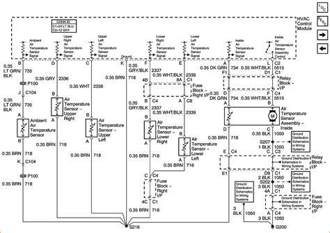 Wiring Harnes Schematic For Chevy Silverado by 2004 Chevy Silverado Instrument Cluster Wiring Diagram