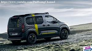 Peugeot Rifter 2018 : 2018 peugeot rifter 4x4 concept review interior exterior auto review phi hoang channel ~ Medecine-chirurgie-esthetiques.com Avis de Voitures