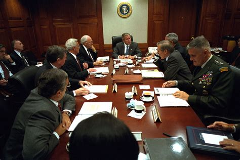 president george  bush  national security counc